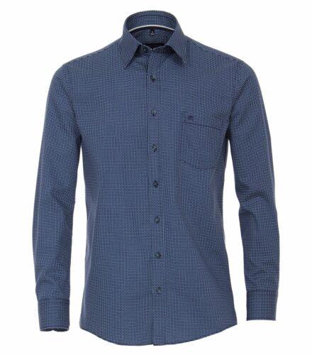 493130700 Casa Moda-Comfort fit-Uomo Camicia Con Stampa Con Kent Colletto