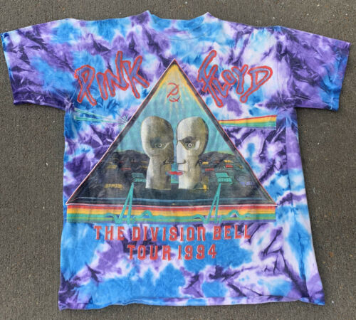 vintage pink floyd division bell shirt 1994 Rare S