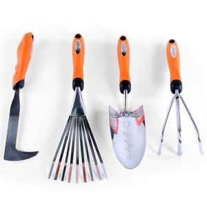 Gartenwerkzeug Set Harke Rechen Fugenmesser Gartenhacke Handrechen
