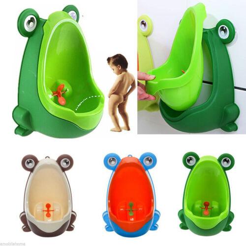 Frog Kids Potty Toilet Training Children Urinal for Boys Pee Trainer Bathroom