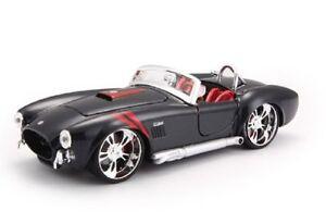 Maisto-1-24-1965-Shelby-Cobra-427-Diecast-Model-Racing-Car-Vehicle-New-in-Box