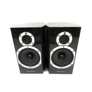 Wharfedale-Diamond-10-1-HiFi-2-Way-Bookshelf-Speakers-Pair-Blackwood-Warranty