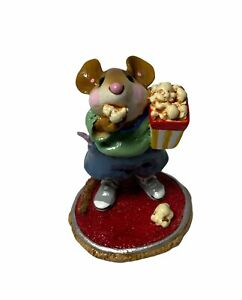 """Wee Forest Folk: """"Mousie's Matinee"""" Collectible, W/ Box, 2003, M-288"""