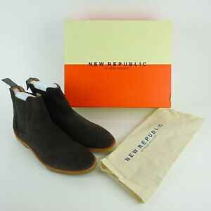 New Republic Gray Houston Chelsea Boots N3B-07-101 Size Mens 11 NIB NEW