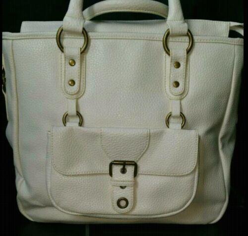 Bag Winterlichem Tasche Handtasche Neu Shopper Henkeltasche Weiss In Zara vqwCXxE
