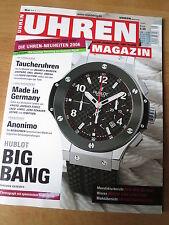 UHREN-MAGAZIN Nr 5 2006 - Uhren Zeitschrift, Uhrenheft, Magazin