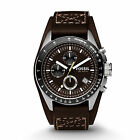 Fossil herren armbanduhr chronograph sport ch2599