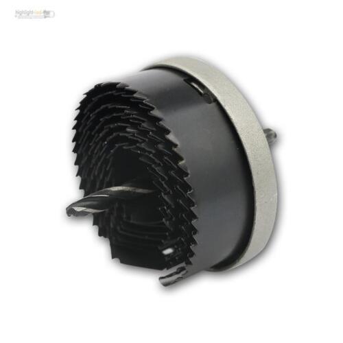 Lochsäge Set für 26-63mm Löcher max 32mm Tiefe 7-teilig Lochkreissäge Lochsägen