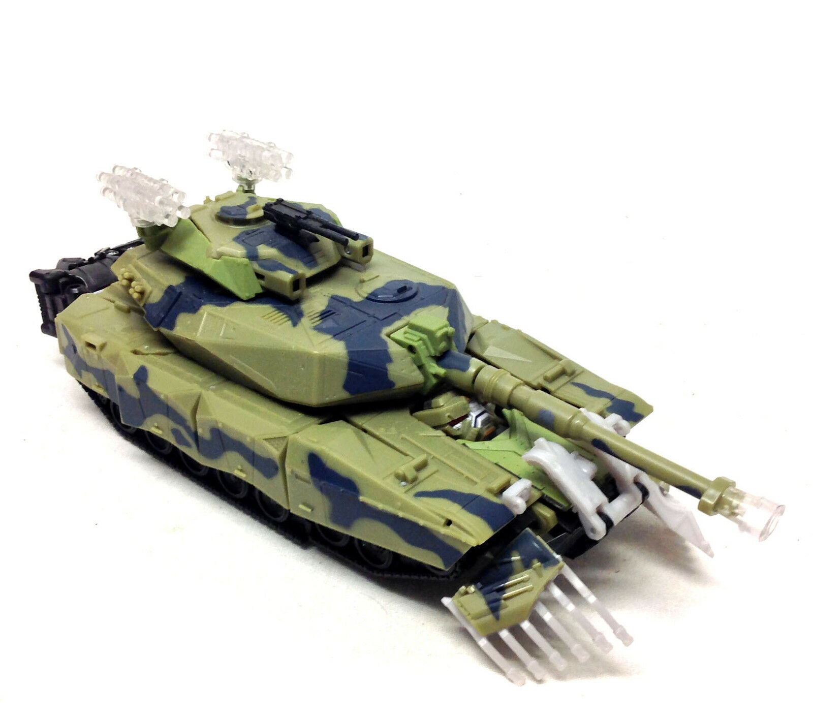 TRANSFORMERS Leader BRAWL 10  Electronic Tank figure NEAR COMPLETE COMPLETE COMPLETE VERY RARE d020c3