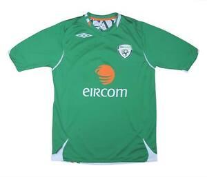 Irlanda 2006-08 ORIGINALE Maglietta (eccellente) M SOCCER JERSEY