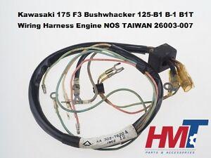 image is loading kawasaki-175-f3-bushwhacker-125-b1-b1t-wiring-