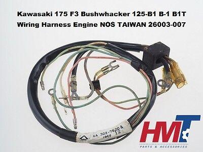 kawasaki 175 f3 bushwhacker 125 b1 b1t wiring harness engine 26003 007 nos tw ebay Kawasaki F11b