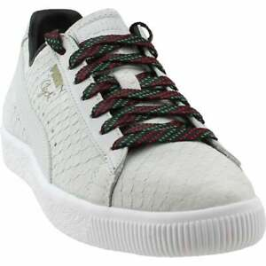 Puma-Clyde-GCC-Lace-Up-Sneakers-Casual-Sneakers-White-Mens-Size-5-D