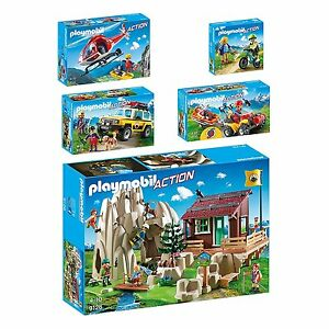 PLAYMOBIL® Action 9126 9127 9128 9129 9130 Bergrettung Quad Heli Bike AUSWAHL