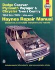 Dodge Caravan and Plymouth Voyager Automotive Repair Manual by Curt Choate, etc. (Paperback, 1988)