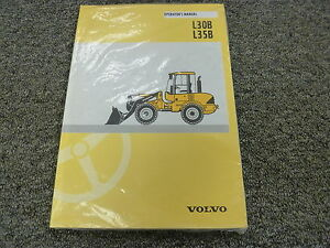 volvo models l30b l35b wheel loader owner operator maintenance rh ebay com volvo l35b pro manual volvo l35b operator's manual