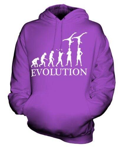 GROUP GYMNASTICS EVOLUTION OF MAN UNISEX HOODIE  Herren Damenschuhe LADIES ACROBATICS