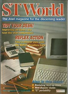 ST-WORLD-3rd-free-issue-after-issue-53-ATARI-ST-MAGAZINE-good-condition