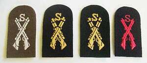 ROYAL-MARINES-SNIPER-TOMBSTONE-BADGES-BATTLEDRESS-BLUES-LOVATS-OR-NO-3