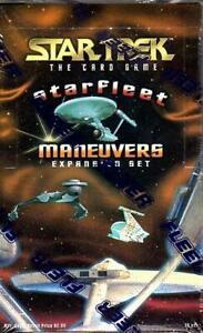 Fleer-Jeu-de-Cartes-Starfleet-Maneuvers-Booster-Boite-36-Paquets-Ccg-Sw