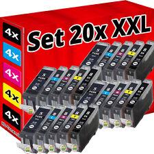 20x XL PATRONEN CHIP für CANON IP3300 IP3500 IP4200 IP5200R IP4300 IP4500 MP970