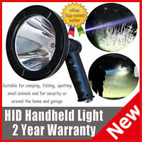 T6 Led Spotlight Handheld Fishing Hunting Light 55w Super Power+built-in Battery