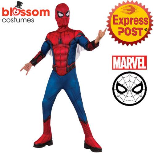 CK1473 Spiderman Far From Home Avengers Boys Hero Book Week Costume Spider-Man