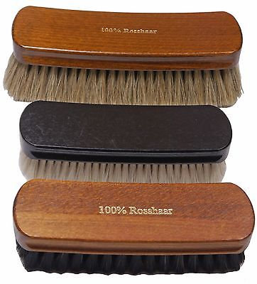 Collonil Professional 100/% Horsehair Shoe Boot Shine Brush Light  color Germany