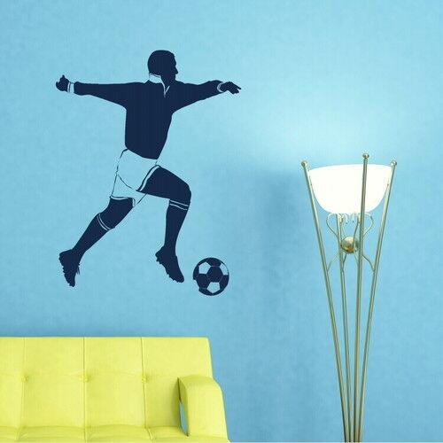 Sport Wall Transfer sp13 Interior Art Decor Sport Wall Sticker Footballer