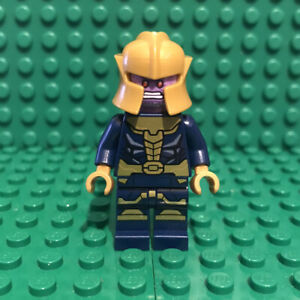 LEGO-Thanos-Minifigure-Marvel-Superheroes-Avengers-Endgame-sh613-76141-Genuine