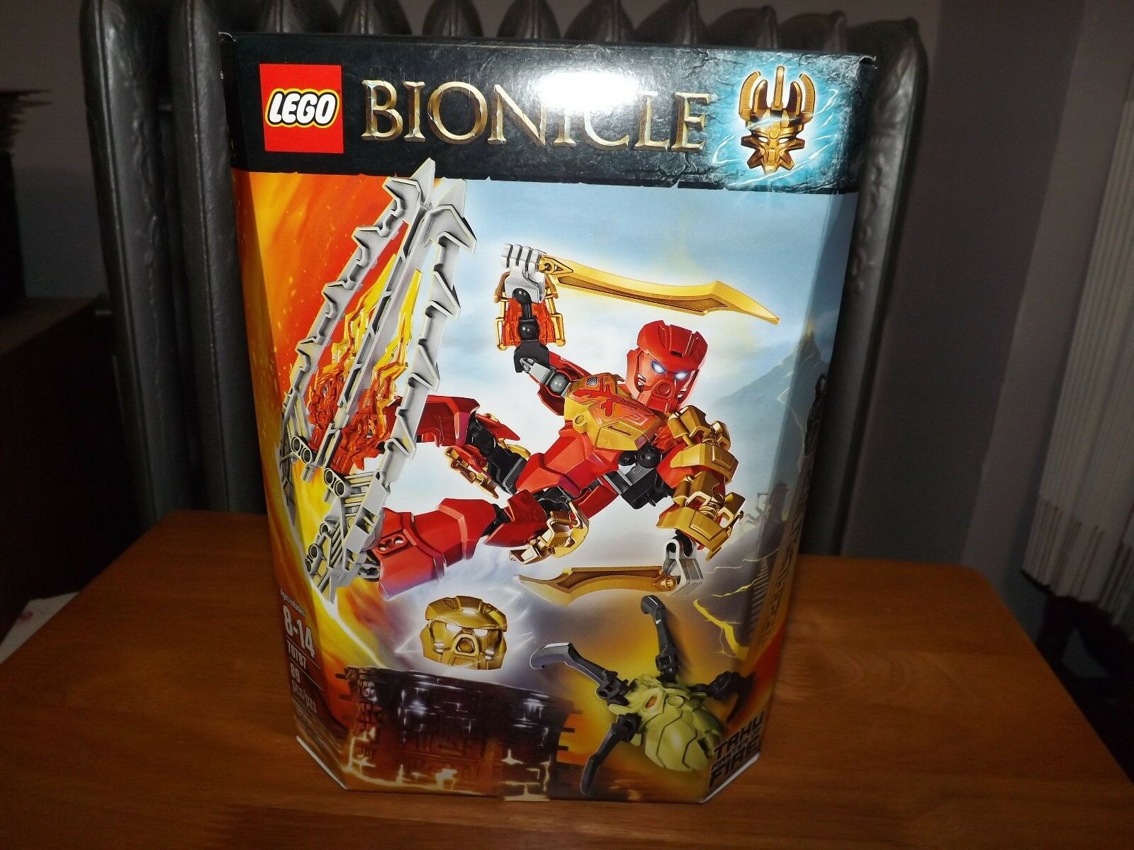 LEGO, BIONICLE, TAHU MASTER OF FIRE, KIT  70787, 89 PIECES, NIP, 2015