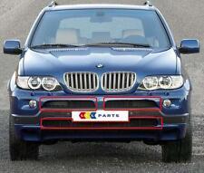 BMW X5 E53 LCI 03-06 NEW GENUINE FRONT BUMPER BLACK GRILL MESH SET OF THREE