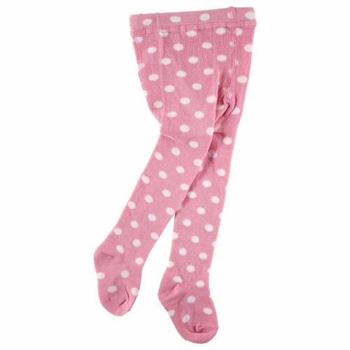 LUVABLE FRIENDS POLKA DOT TIGHTS BABY AND TODDLER GIRLS COTTON NEW