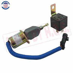 Details about Diesel Fuel Shut off Solenoid and Relay For 94-98 Dodge 5 9L  Cummins 3931570 New