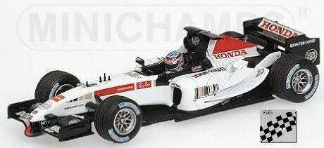 Bar Honda 007 T. T. T. Sato 2005 F1 Formula 1 1:18 Model MINICHAMPS | Beau Design
