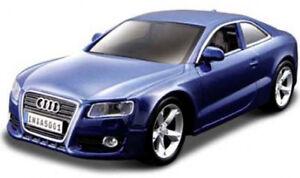 AUDI-A5-1-32-Coche-Modelo-de-Metal-Die-Cast-Modelos-Diecast-Miniatura-Azul-Coche-de-juguete