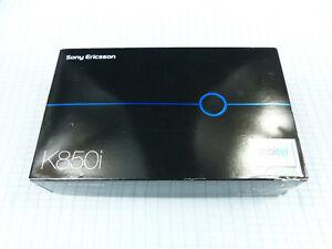 Sony-Ericsson-K850i-Schwarz-Blau-Wie-neu-Ohne-Simlock-TOP-ZUSTAND-OVP-RAR
