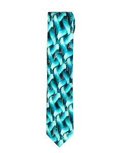 Aqua Silk Nude Grateful Dead Jerry Garcia Mens Neck Tie
