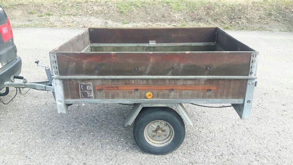 Trailer, Brenderup 450 GS, lastevne (kg): 350
