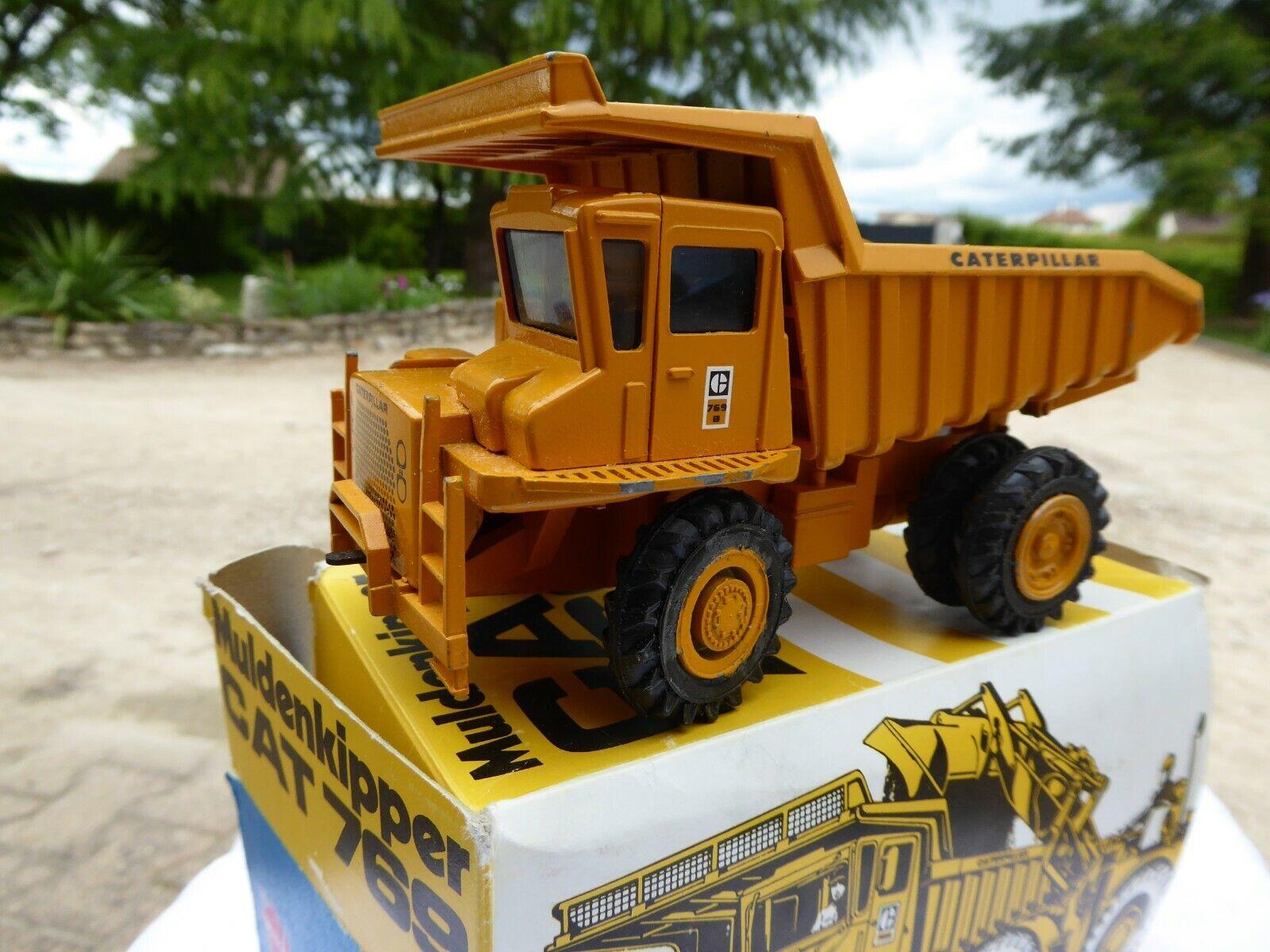 Camion de chancravater  Muldenkipper CAT 769 N° 276 Gescha   À ne pas manquer!