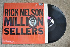 RICK-NELSON-Million-Sellers-shrink-wrap-original-RECORD-LP-VG