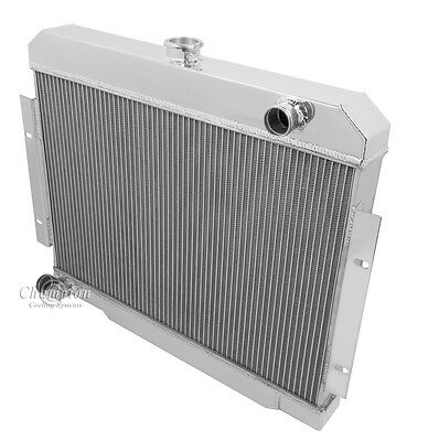 FOR 1970-1985 Jeep CJ Series 80 81 82 83 84 3 Core Aluminum Radiator /& 2* Fans