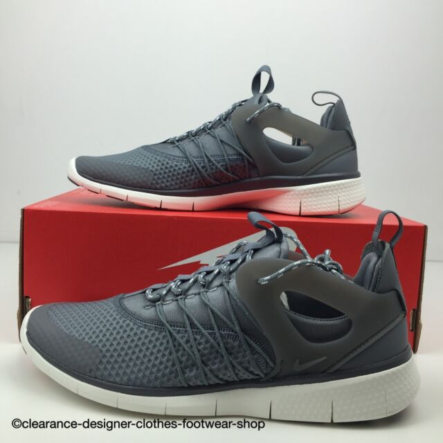 NIKE FREE VIRITOUS TRAINERS WOMENS NEW GREY RUNNING FREE RUN SHOE UK 6 RRP  £90 902616b548