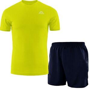 Completo Uomo T-shirt KAPPA + Shorts GIROGAMA Set Sportivo Tuta Slim 6959