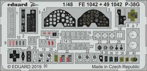 Eduard-Accessories-FE1042-1-48-P-38G-pour-Tamiya-Neuf