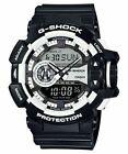 Casio GA-400-1ADR (G548) G-Shock Resin Analog-Digital Men's Watch - Black / White