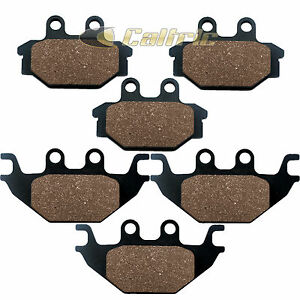 FRONT-amp-REAR-BRAKE-PADS-FITS-KAWASAKI-KVF300-Brute-Force-300-2012-2013-2014