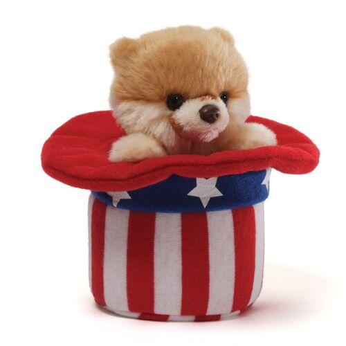 ITTY BITTY BOO USA RED WHITE /& BOO NWT GUND POMERANIAN DOG 4040348