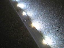 1m SIDEWAY kaltweiß LED STRIP 12V LICHT über SEITE SIDE ANSICHT SIDEVIEW
