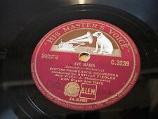 """78rpm 12"""" AVE MARIA (Theodorowicz Solo Violin) BACH air suite 3 d minor C 3239"""